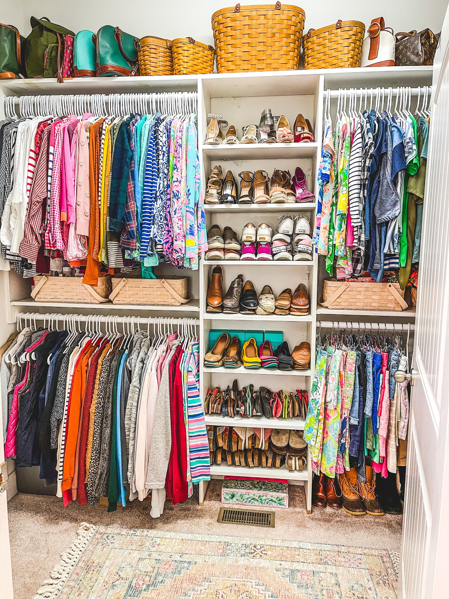 Shaw Avenue | Master Bedroom Closet Makeover & Closet Capsule Wardrobe