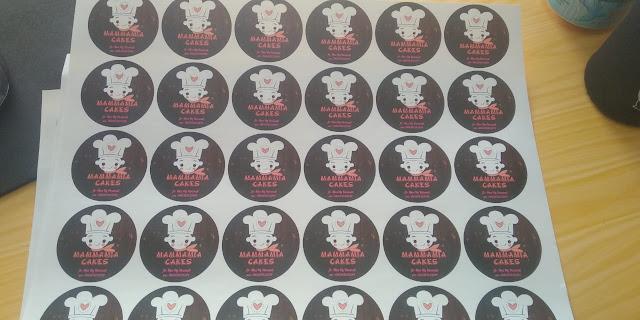 Stiker Label Cakes