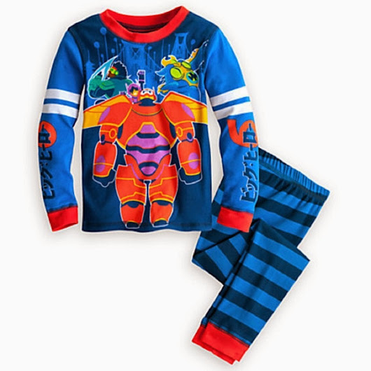 Big Hero 6 pajamas for 5 - 6 years