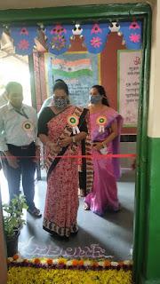 मनपा शाला संकुल में वृक्षारोपण कार्यक्रम  तथा माध्यमिक शाला का उदघाटन  संपन्न  | #NayaSaberaNetwork