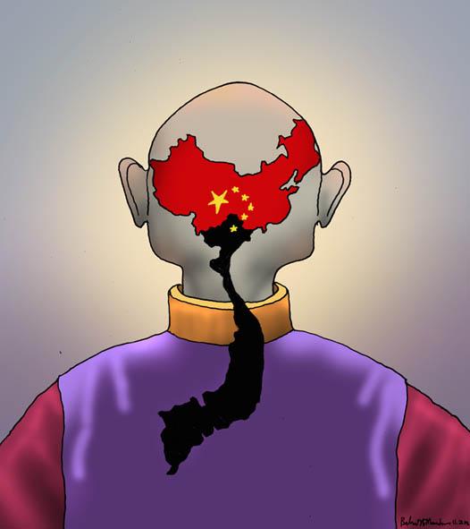 Việt Dương Nhân: Danlambao: Đất nước là cái đuôi sam - Biếm họa ...