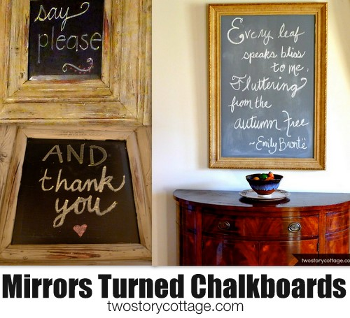 The Pros Of Cons Of Painting Vs Wallpapering: Chalkboard Paint {Craft Paint Vs. Store Paint}
