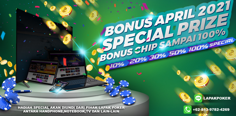 Promo April Lapak poker 2021