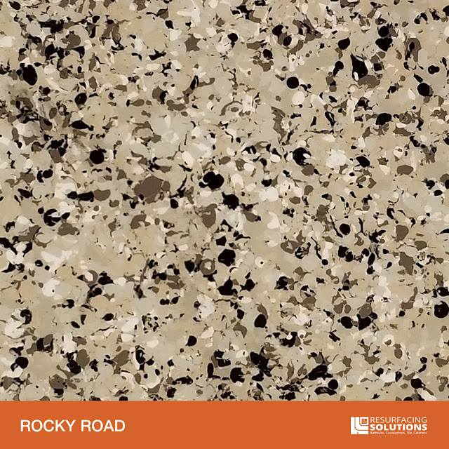 Resurfacing Solutions Knoxville Faux Granite Countertop Color Sample 47