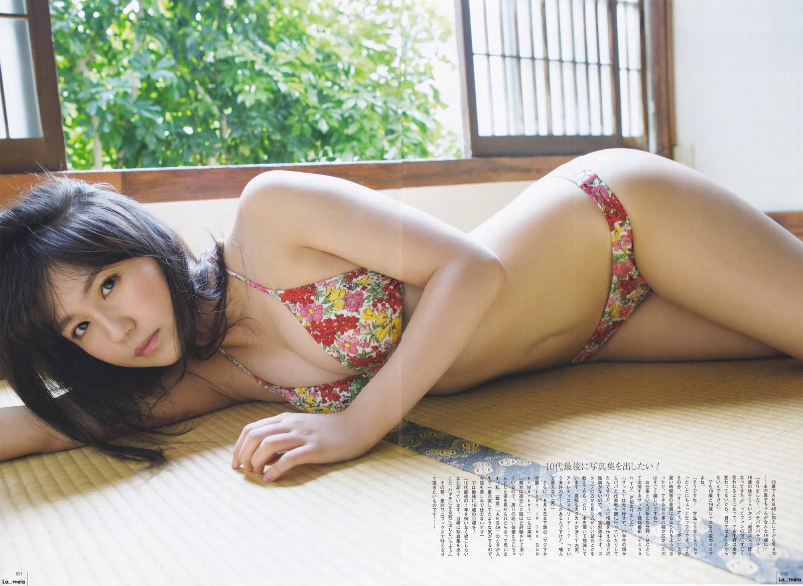 Kojima Mako 小嶋真子 AKB48, UTB Magazine 2016.09 Vol.245 Gravure