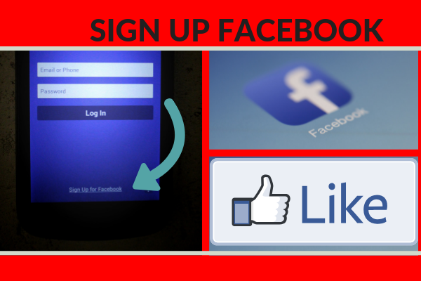 How To Sign Up A Facebook Account