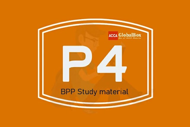 P4 | Advanced Financial Management - (AFM) | BPP Study Material