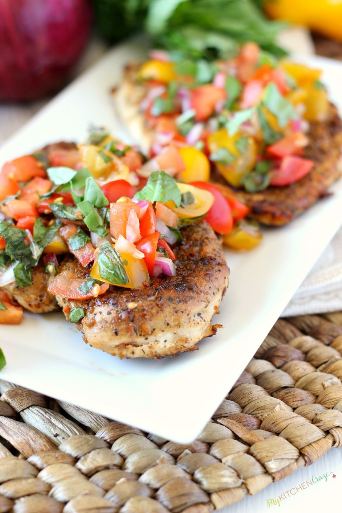 Recipe : Bruschetta Chicken - My Favorite Things