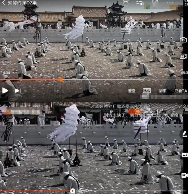 Ê-kíp phim cổ trang Trung Quốc xin lỗi vì ăn cắp cảnh quay