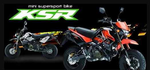 Kawasaki KSR 110 Specifications