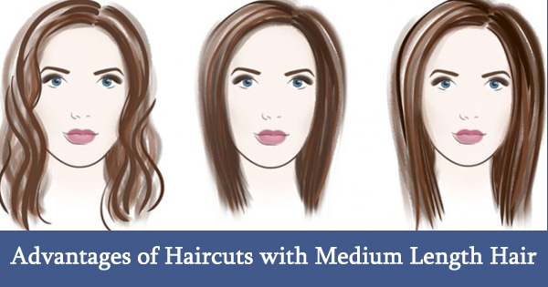 Advantages of Haircuts with Medium Length Hair