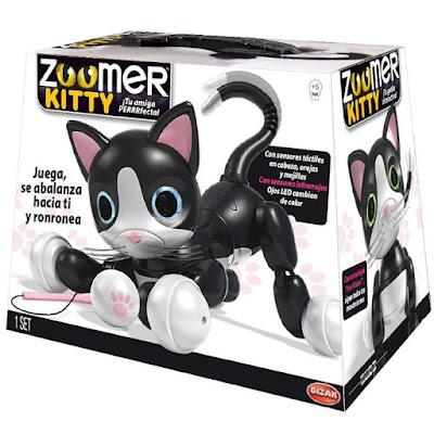 JUGUETES - Zoomer Kitty Gato : Mascota Electrónica Interactiva | Robot Bizak 2016 | Comprar en Amazon España