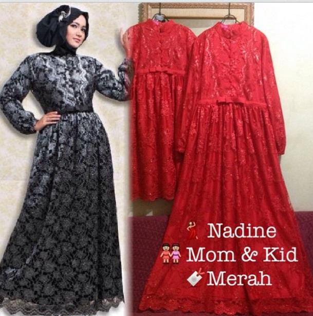 samara boutique  butik baju pesta keluarga muslim baju