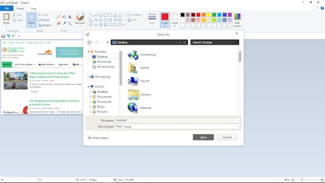 Cara Screenshoot di Laptop Tanpa Aplikasi