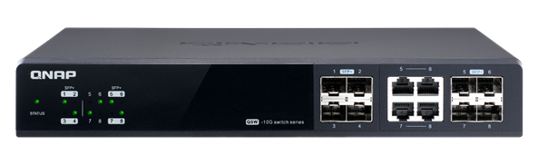 QNAP introduz a série de switches QSW-M12XX para PMEs