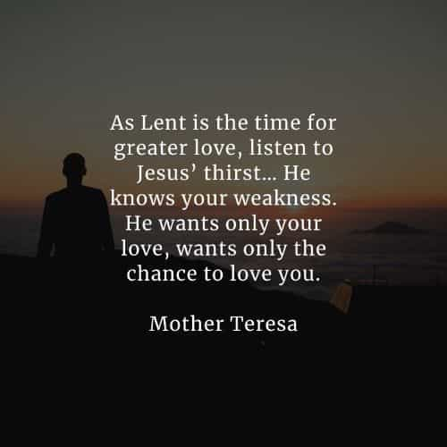 Lent quotes and holy week sayings that'll inspire you