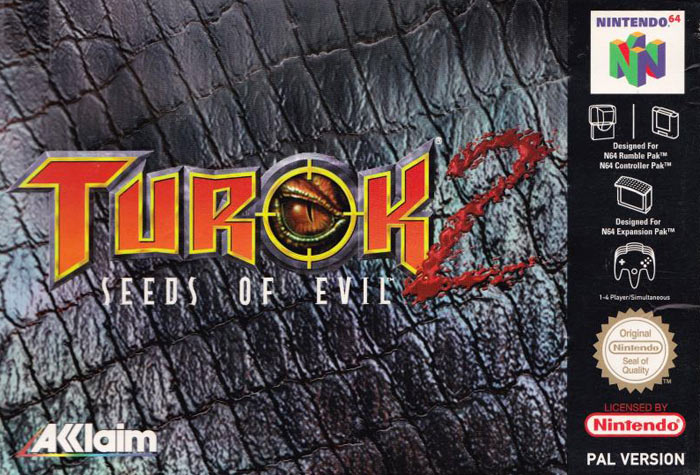 ROMs - Turok 2 - Seeds of Evil (Português) - N64 Download