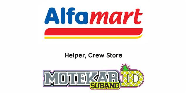 Lowongan Kerja Alfamart Branch Balaraja Februari 2021 - Motekar Subang