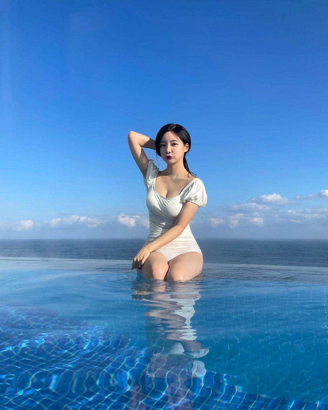 곽민선 아나운서 인스타 사진 - 꾸르