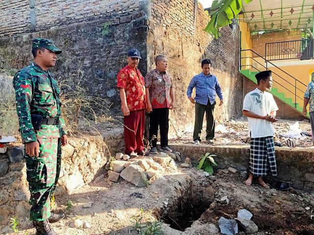 Babinsa Karanganom Hadiri Acara Peletakan Obyek Wisata Kusuma Jolo Tirto
