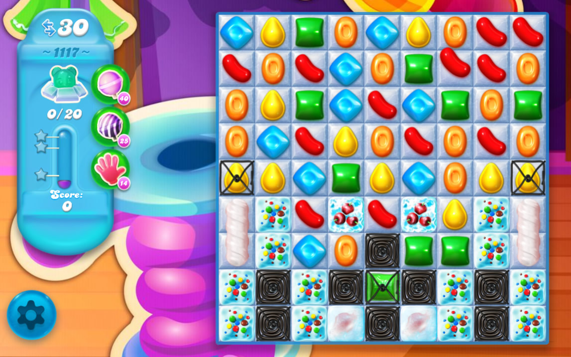Candy Crush Soda Saga level 1117