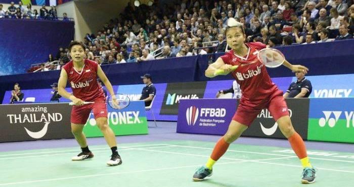 Greysia Polii-Apriyani Rahayu French Open