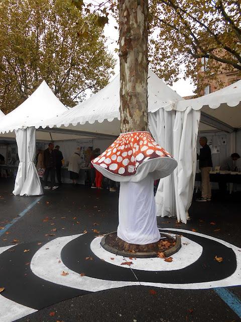 champignon géant