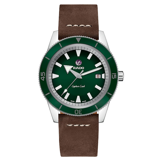Rado Tradition Captain Cook Green