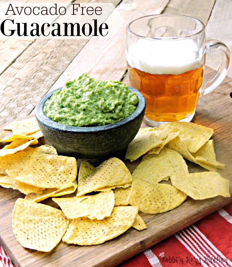"For those of us that can't indulge in guacamole  #mockamole #guacamole #avocadofree #avocadoallergy #allergy #mexican #easy #recipe #lowcarb #keto | bobbiskozykitchen.comdue to avocado allergies, this avocado free ""Mockamole"" will make you feel like you aren't missing a thing."