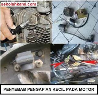 penyebab pengapian kecil pada motor