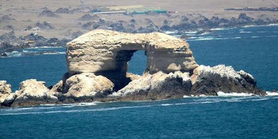La Portada de Antofagasta Natural Monument, North of Chile.