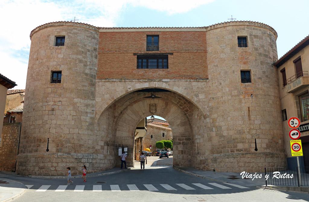 Arco de la cárcel de Lerma