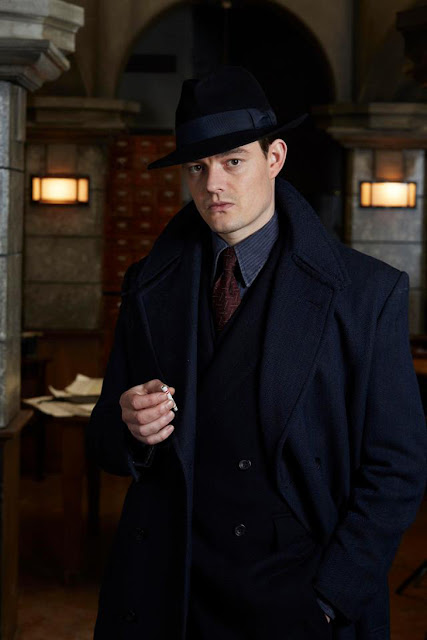 Sam Riley in SS-GB that premieres on 29th June at 10 PM only on Zee Cafe...