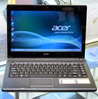 Laptop Acer Aspire 4250 AME E-450 di Malang