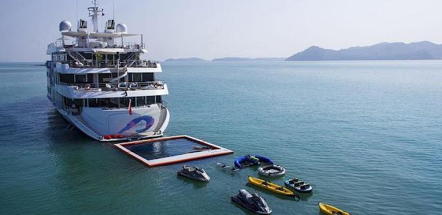 Saluzi yacht.