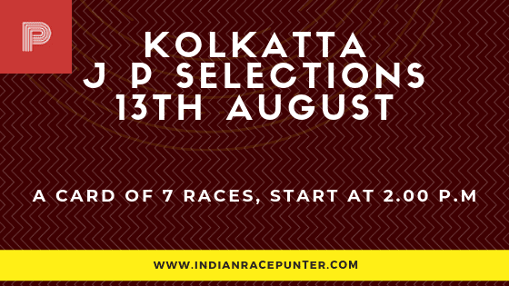 Kolkata Jackpot Selections 13 August