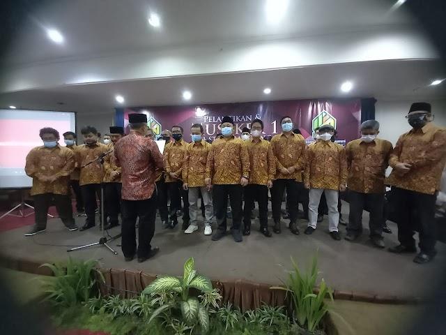 Ketua STAIPI Bandung  DR. Nurmawan  Lantik Kepengurusan IKA STAIPI Periode 2021-2024