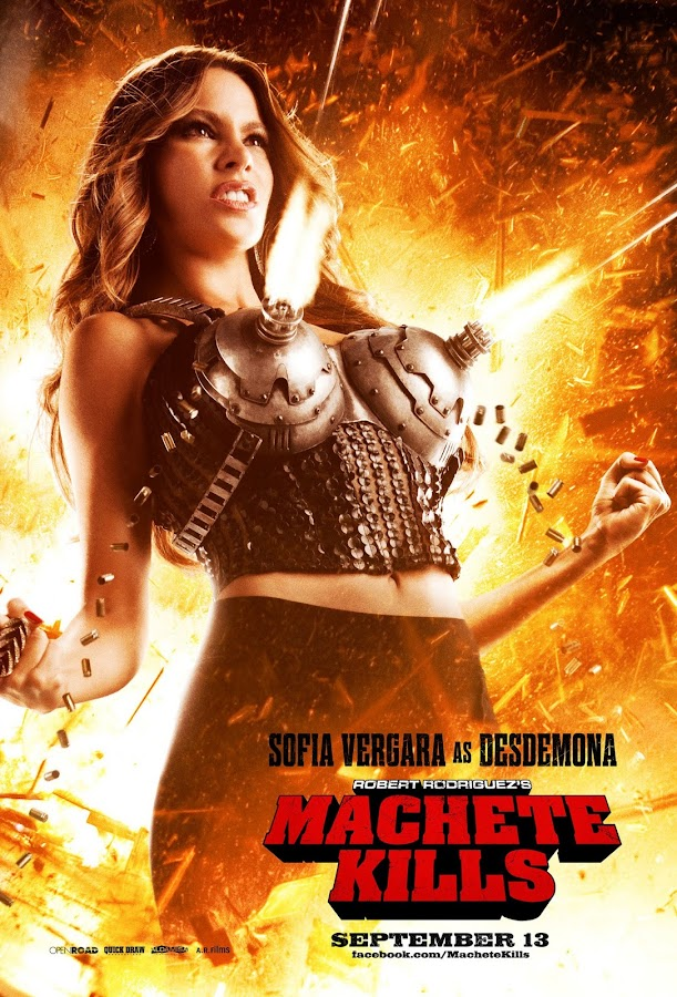 ตัวอย่างหนังใหม่ : Machete Kills (คนระห่ำ ดุกระฉูด) ซับไทย poster