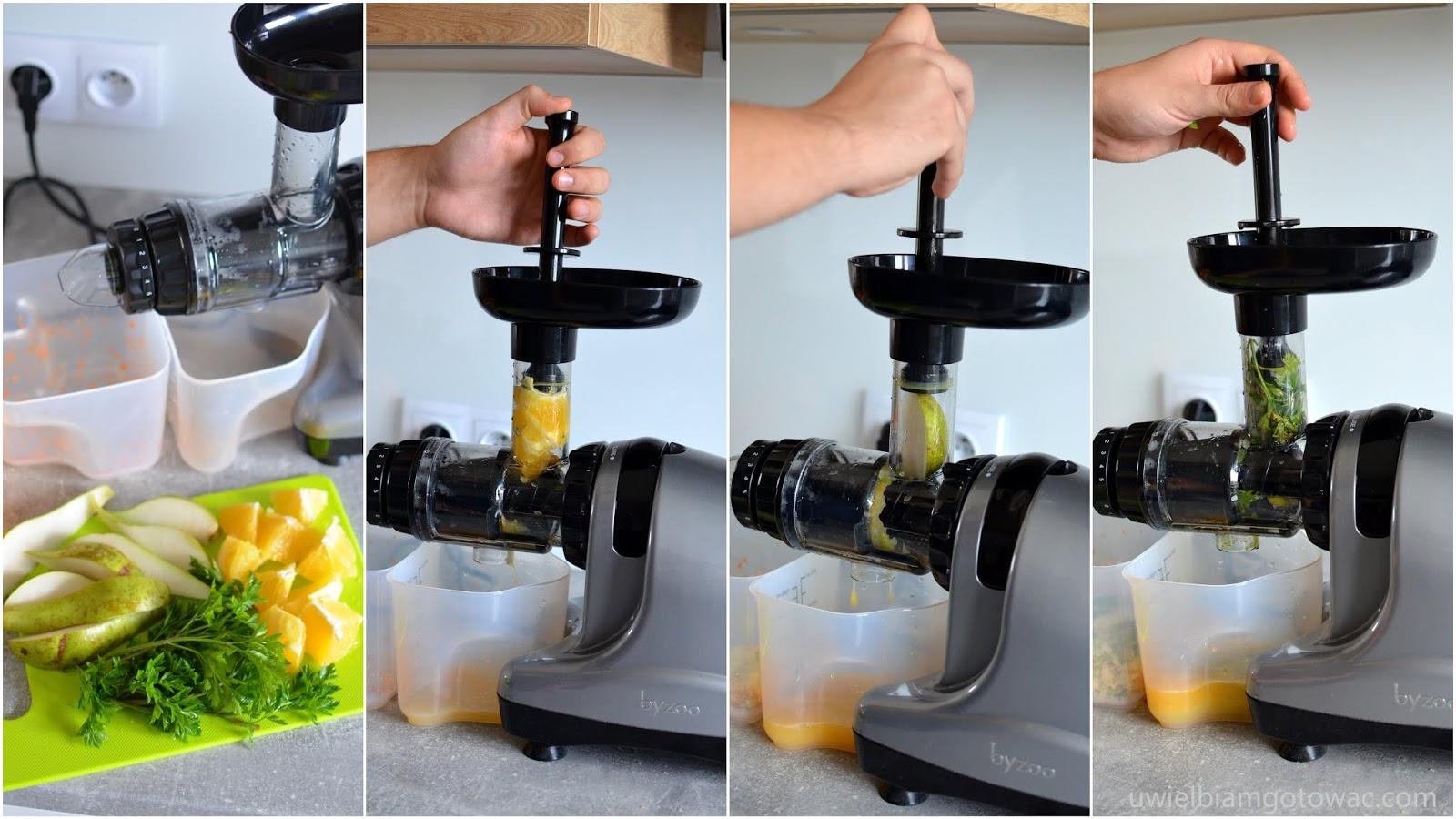 Niewiarygodnie Uwielbiam gotować: Wyciskarka Byzoo Rhino do owoców, warzyw i ziół NZ07