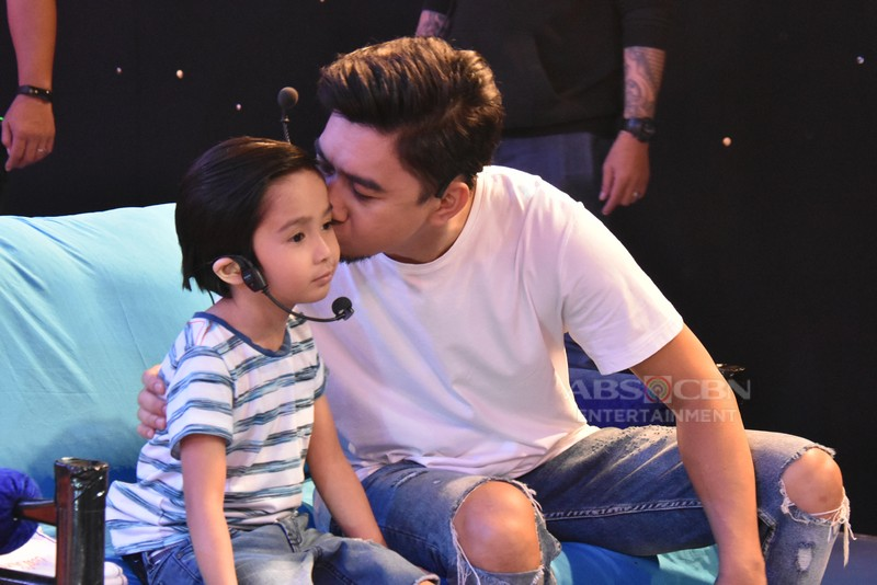 Team Jugs and Teddy touches hearts wit father and son's love