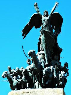 A Liberdade - Monumento a San Martín - Parque General San Martín, Mendoza