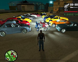 Gameplay GTA San Andreas Crack