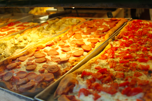 pizza al taglio roma