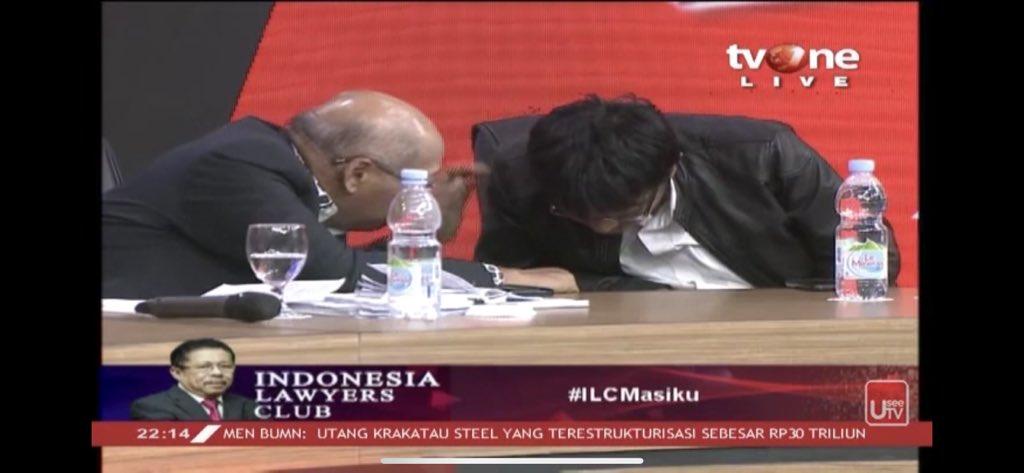 """Di ILC, Jubir KPK Gagu Ditanya """"KPK Punya Alat Canggih Tapi Nggak Bisa Tangkap Masiku?"""""""