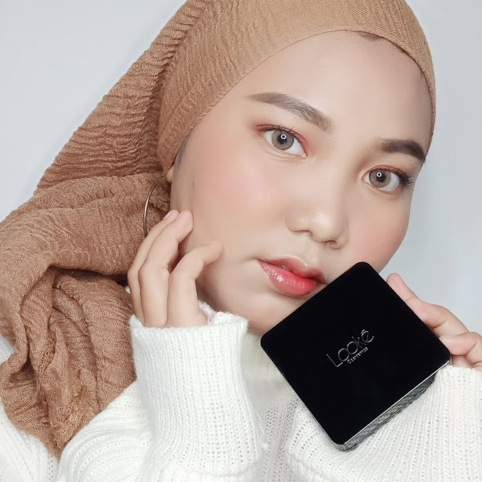 Review Looke Holy BB Cushion Di Kulit Berminyak - Haloanisa