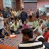 श्री श्री 108 वैष्णवी दुर्गा मंदिर के प्रांगण में सदस्यों की बैठक की संपन्न