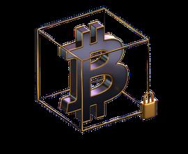 bitcoin 3d logo