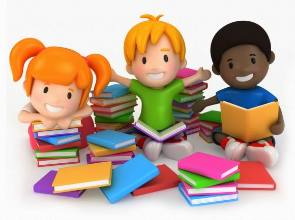 Resultado de imagem para crianças e livros