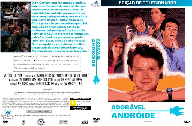 Capa DVD Adorável Andróide [Pixel Art] [Coleção]