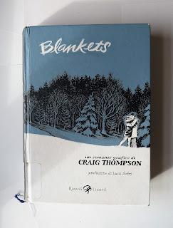 blankets craig thompson recensione no spoiler felice con un libro